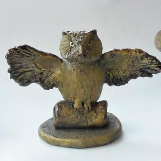 Сова Статуэтка совы Подарок коллекционеру