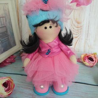 куколка интерьерная, милая, красивая крошка 15см