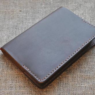Обложка для блокнота из натуральной кожи ручной работы В04-450