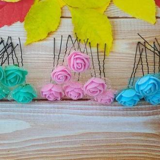 Шпильки розы