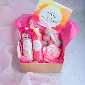 """Подарочный набор  """"Для утонченной Леди """", подарок для подруги, коллеги, мамы, на 8 марта"""