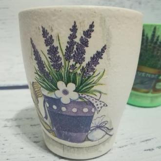 Набір кашпо-кераміка для рослин