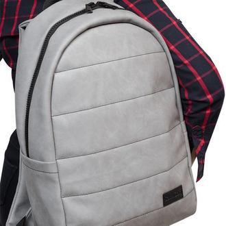Мужской серый рюкзак из нубука