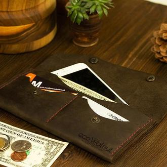 Кожаный кошелек Женский кошелек Лучший подарок для девушки мамы Аксессуар для телефона и карт