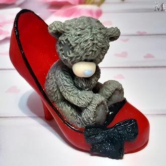 """Мыло  """"Тедди в туфельке"""""""
