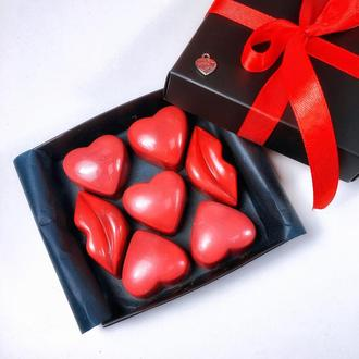 Набор шоколадных конфет Love Box black
