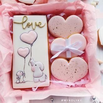 """Пряничный набор с пожеланием """"Love"""""""