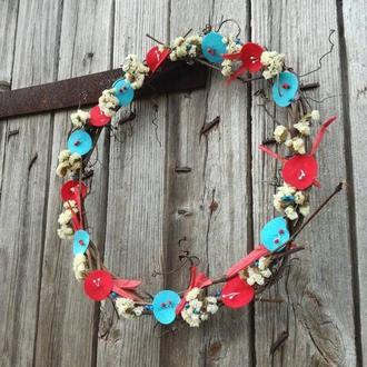 Весенний декор на стену, украшение для дома