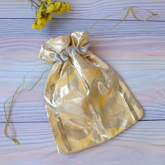 Эко мешок, торбочка, мешочек для подарка 01