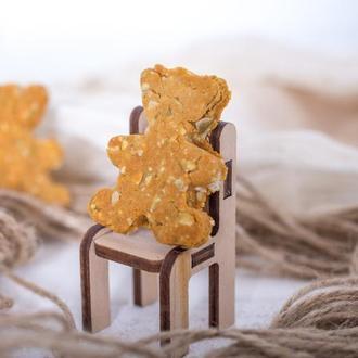 Веганское печенье песочное с тыквенными семечками PONYC