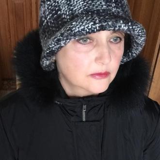 Шляпка, панама женская зимняя, демисезонная