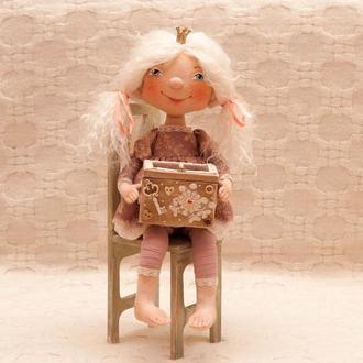 Интерьерная кукла Принцесса Анабель