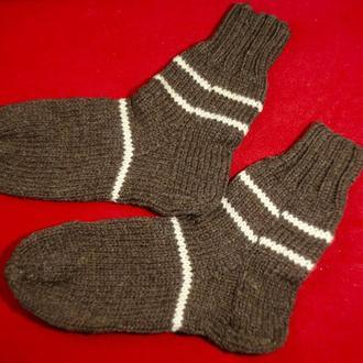 Вязаные носки, мужские носки , шерстяные носки