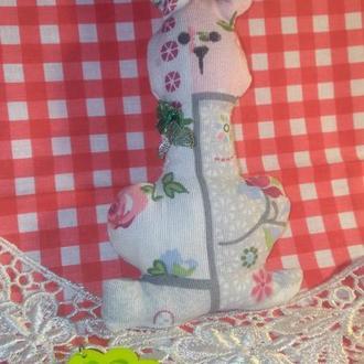 Пасхальный зайчик кролик заяц декор на Пасху пасхальная корзина