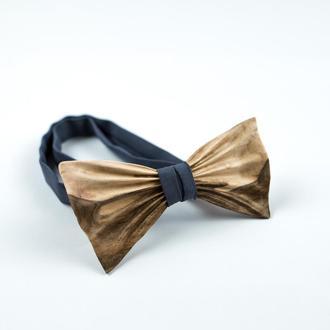 Деревянная галстук-бабочка . Подарок на годовщину для мужа. Деревянный аксессуар.