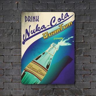 Постер (картина) табличка — NUKA-COLA