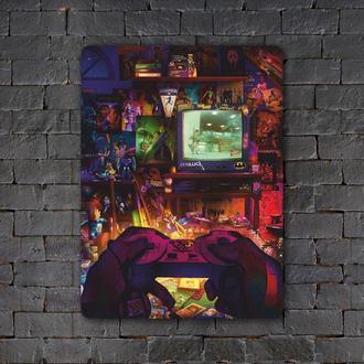 Постер (картина) табличка — PlayStation 1 (2)