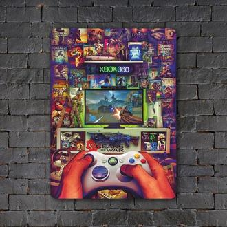 Постер (картина) табличка — XBOX 360