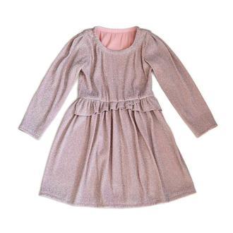 Плаття, на 5 - 6 років, нарядн трикотаж з люрексом, Платье, нарядное платье, платье трикотаж с люрек