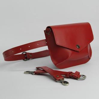 Flapbag Frida red (артикул: w014.4m)