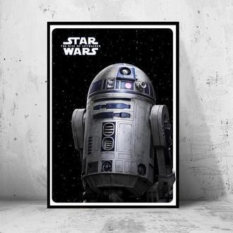 """Постер """"Star Wars: the Rise of Skywalker / Звездные Войны: Скайуокер. Восход"""" (R2-D2)"""