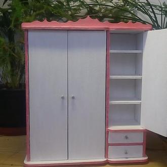 Шкаф для кукол барби