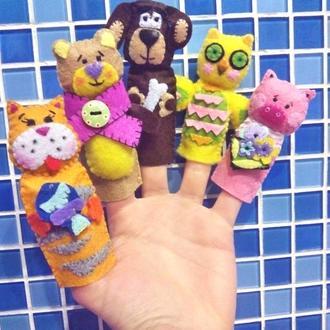 Развивающие пальчиковые игрушки