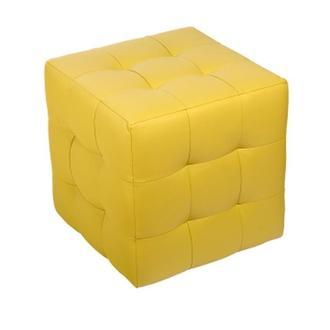 Пуф  Токио Желтый 40х40х42 см. Готовые дизайнерские решения.