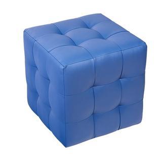 Пуф  Токио Синий 40х40х42 см. Готовые дизайнерские решения.