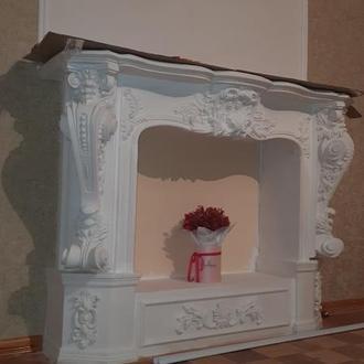 Портал для камина, декоративный камин (М11)