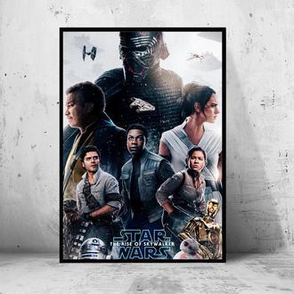 """Постер """"Star Wars: the Rise of Skywalker / Звездные Войны: Скайуокер. Восход"""""""