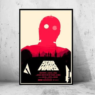 """Постер """"Star Wars / Звездные Войны"""""""