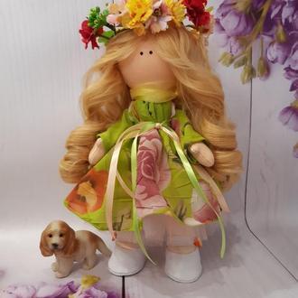 Интерьерная кукла Веснянка