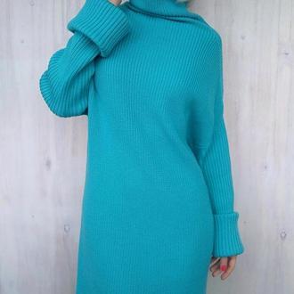 Мериносовое платье