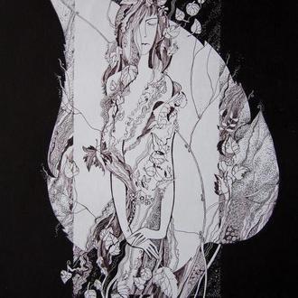 """Графический рисунок """"Осень"""""""