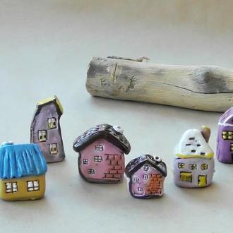 Домики Миниатюра для коллекционера мини подарок