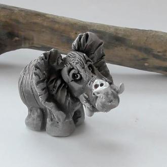Фигурка слоника подарок в виде слона