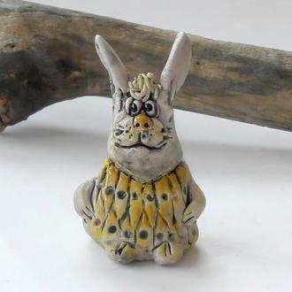 Фігурка зайчика подарунок заєць