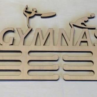 Вешалка для медалей ( гимнастика) из Еко-фанеры