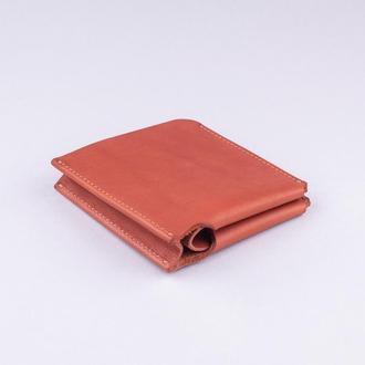 Мужской бумажник для карт \ Мужской кошелек из кожи