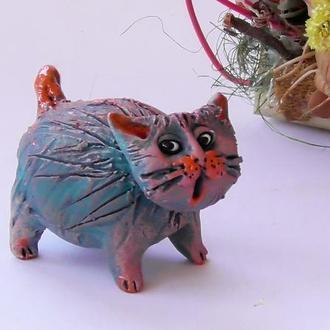 Фигурка кот интерьерный