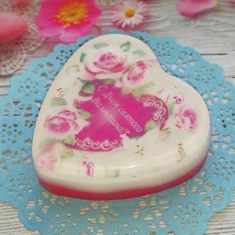 Мыло-Валентинка ко Дню Святого Валентина