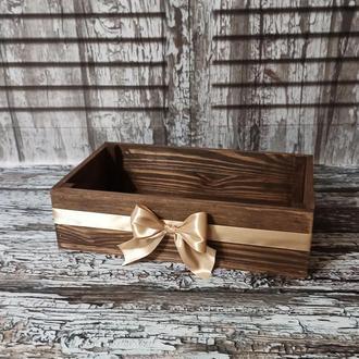 Деревянный ящик (коробка)