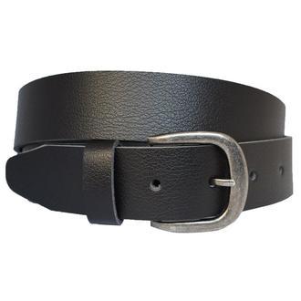 Pava кожаный женский ремень черный пояс для джинсов пасок ремінь