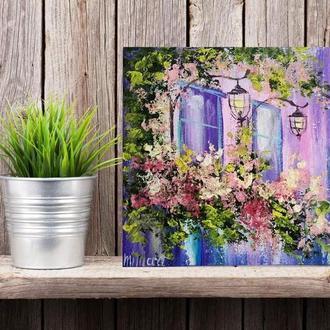 Картина Прованс Віконця з ліхтариками