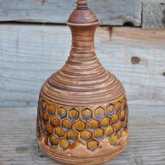 Керамічний бутель для міцних напоїв