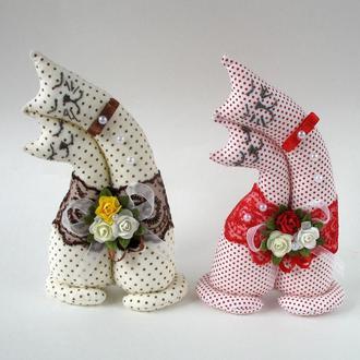 Котики-неразлучники, подарок любимым на день Валентина