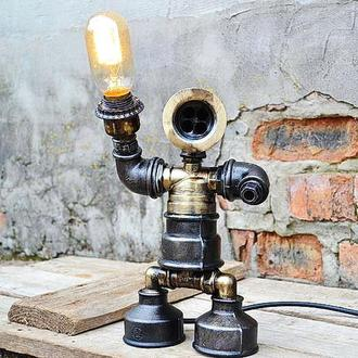 Настольная робот лампа