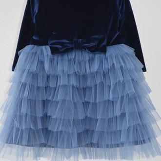 Оригинальное нарядное платье
