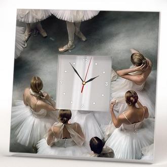 "Часы с рисунком ""Балерины"""